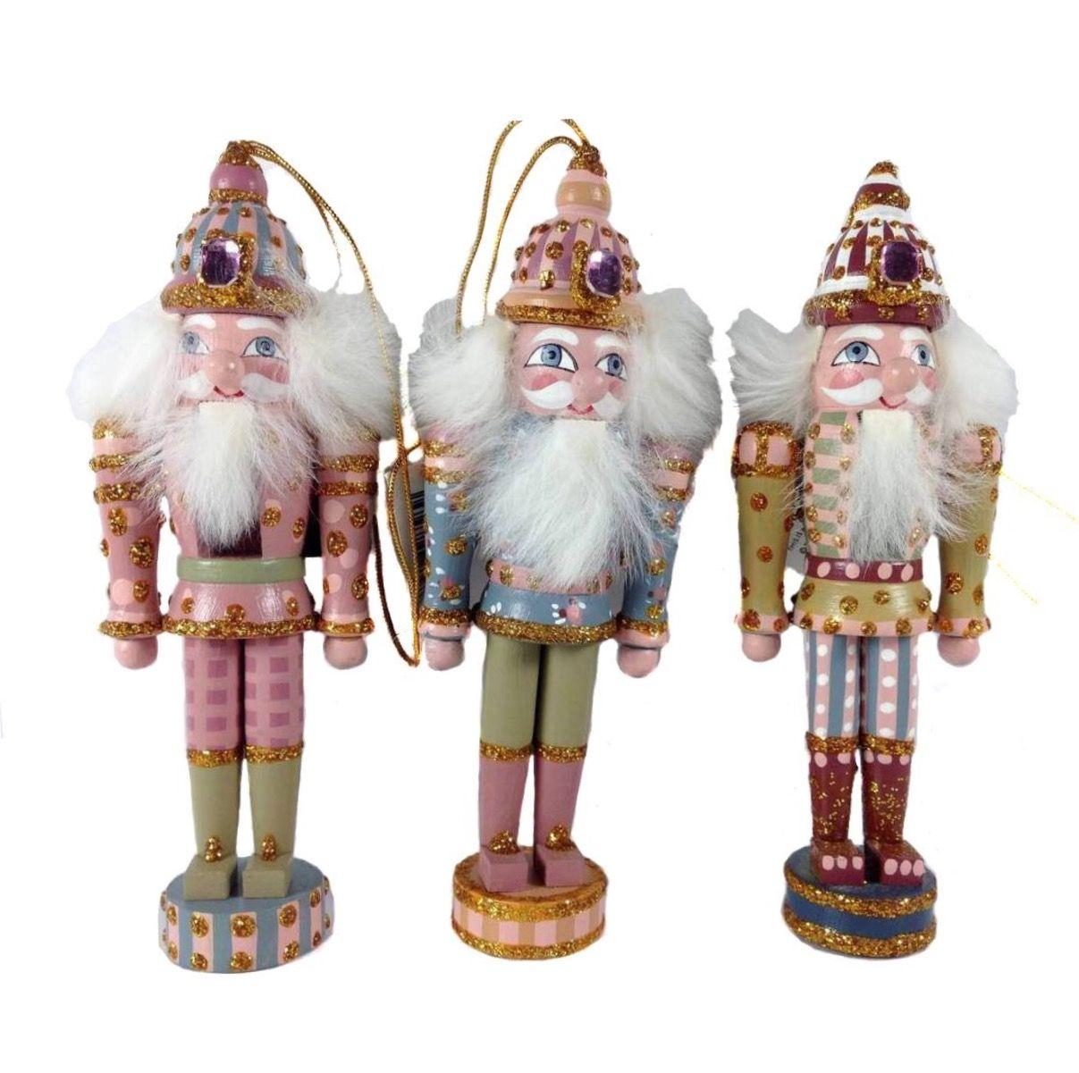 ✓ Kurt Adler 3 Assorted Nutcracker Ornaments H0799. Kurt S. Adler ...