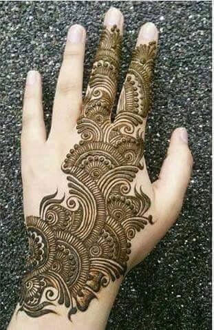 pakistani mehndi ke design