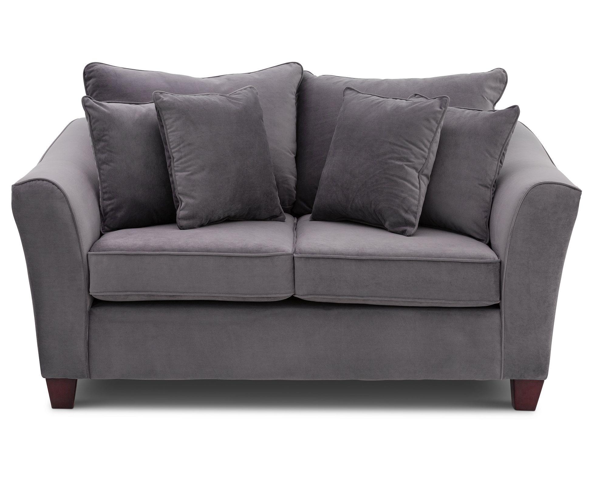 Lenox Loveseat Furniture Row Rowe furniture, Love seat