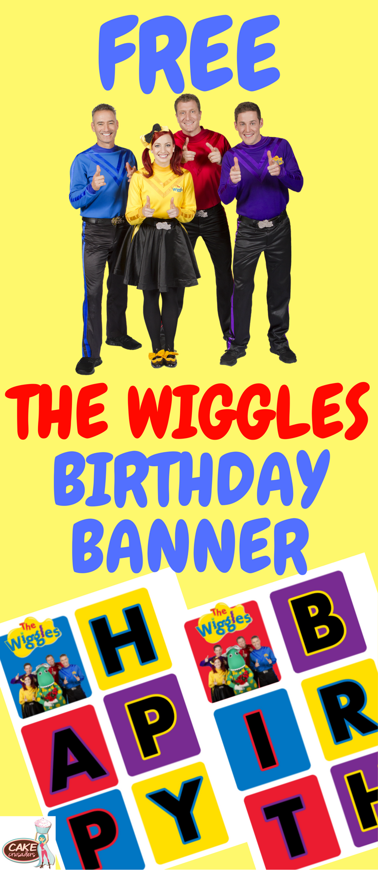 The Wiggles Happy Birthday Banner Jack Happy Birthday Banners