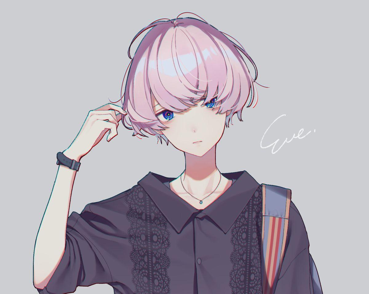 歌い手 Eve Sou あいこのイラスト Persy Kavai Milyj Anime Malchik