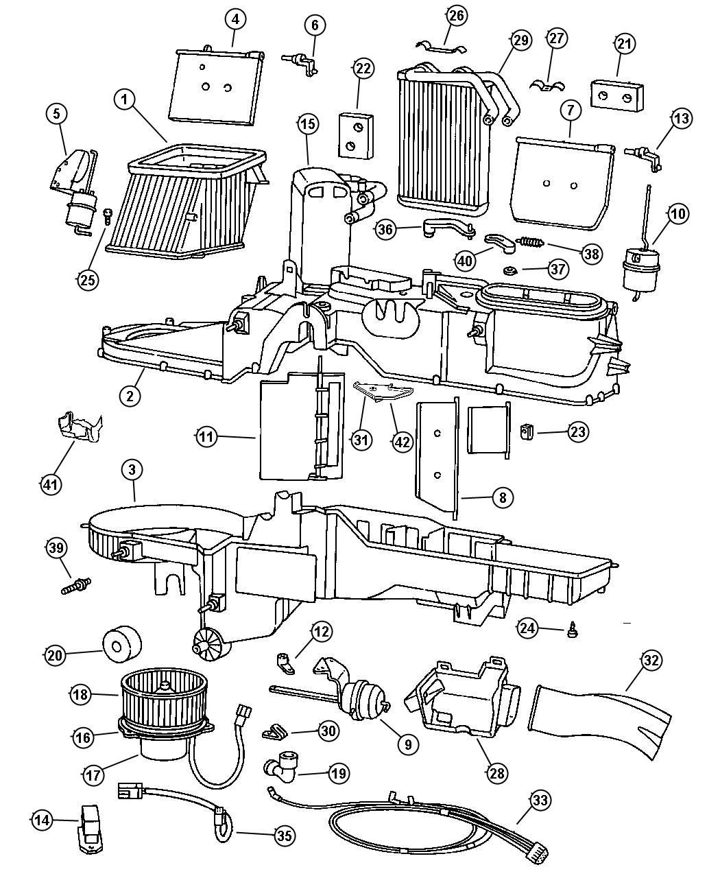 04720279ab Mopar Actuator Heater Vent Defrost Actuator Dodge Logo Mopar