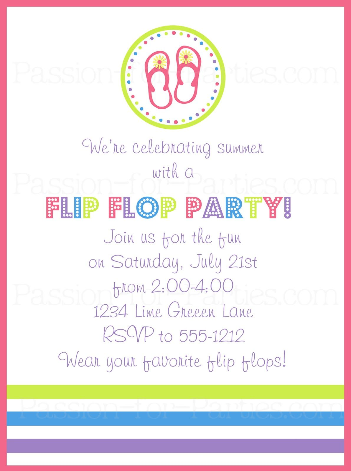 Birthday Party Blog: DIY Flip Flop Wreath | flip flop meeting ...