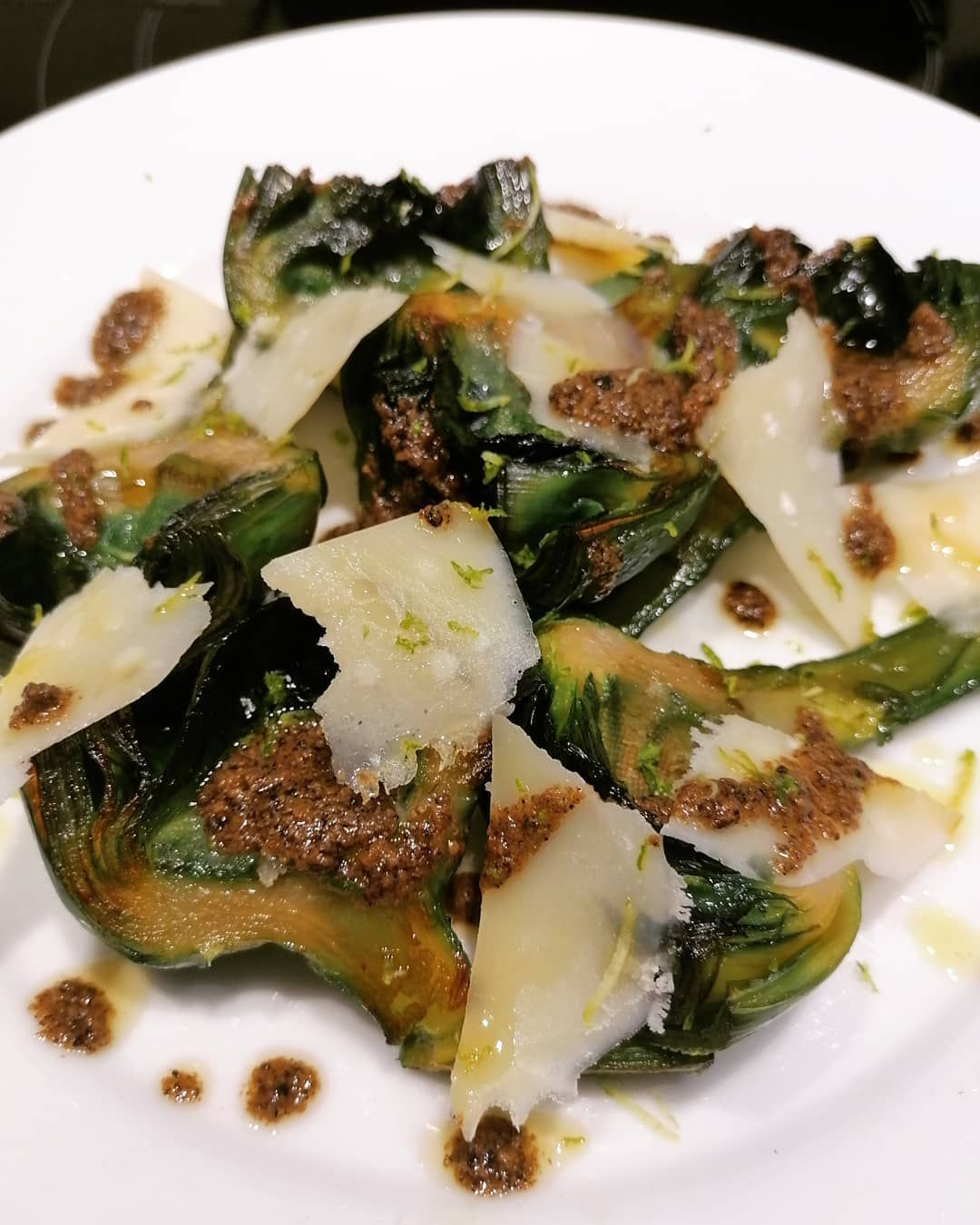 724 Me Gusta 176 Comentarios Xavichef X Flotats En Instagram Alcachofas Parmesano Aceite De Trufa Y Lima Si Te Gusta Food Vegetables Broccoli