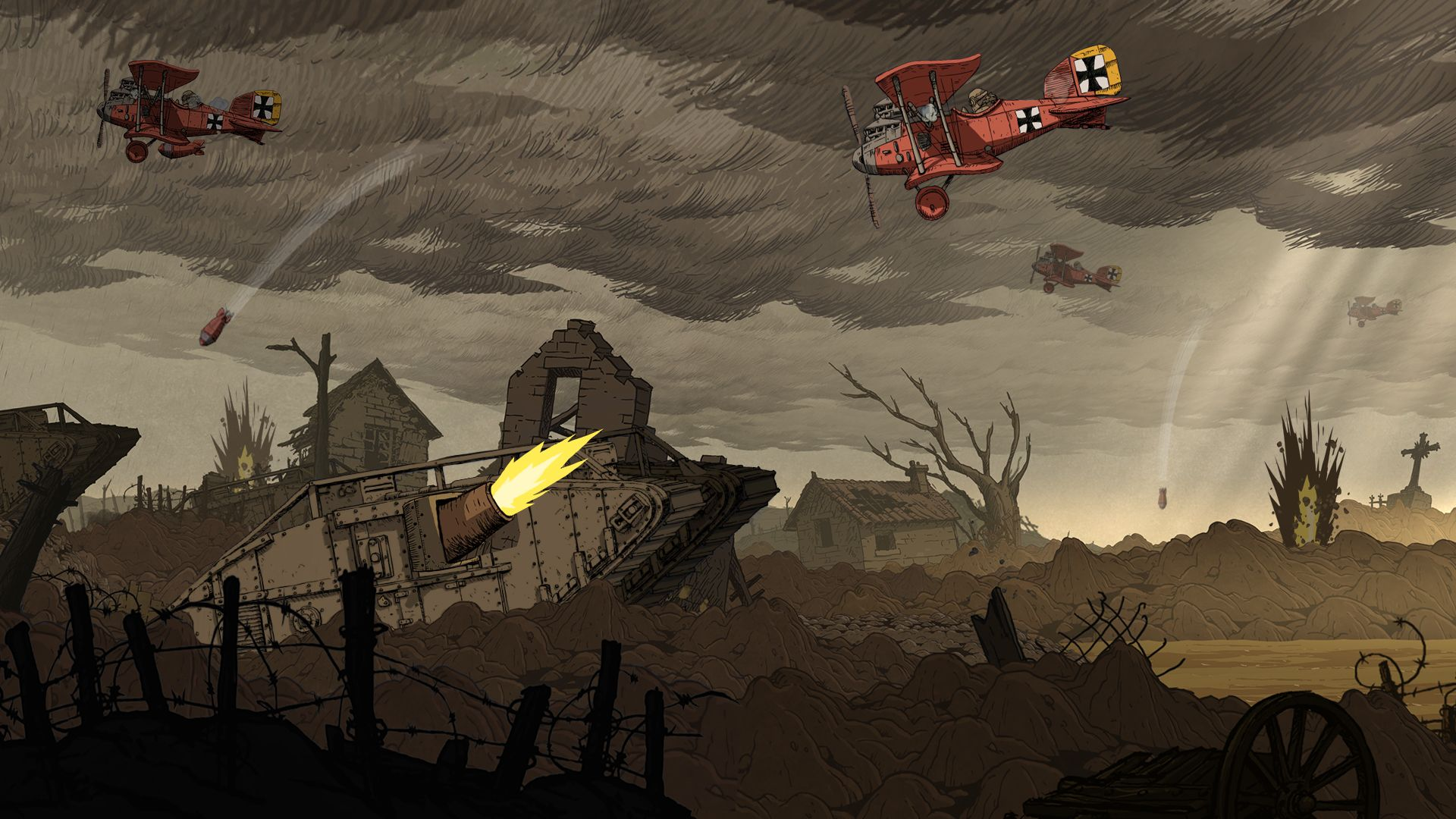 Mines Soup Ladles And War Valiant Hearts Review