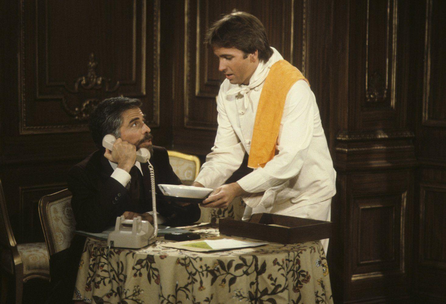 John Ritter and Jordan Charney in Three's Company (1976)