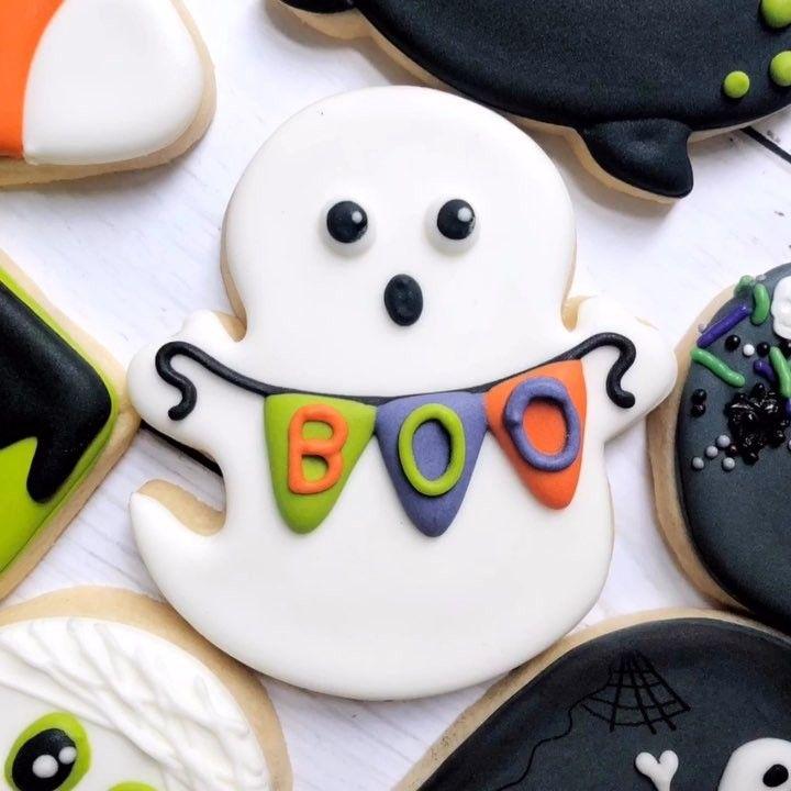 Pin de Paulina Allende en Cookies   Pinterest   Halloween cookies ...
