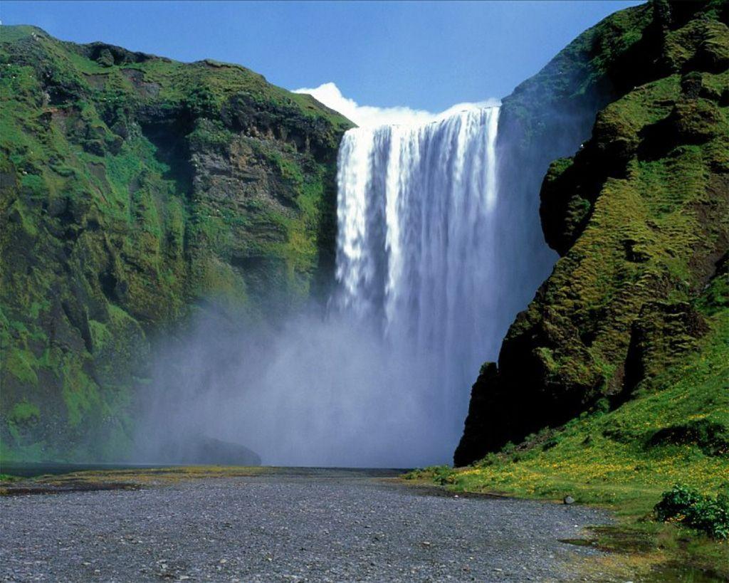 Waterfall Background Wallpapers Waterfalls Waterfall Beautiful Waterfalls Waterfall Pictures