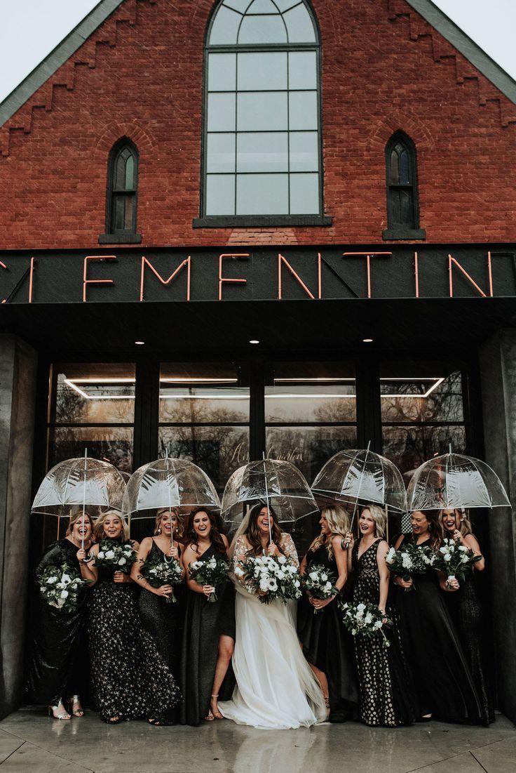 Rain on a wedding day? NO problem! This stunning Nashville