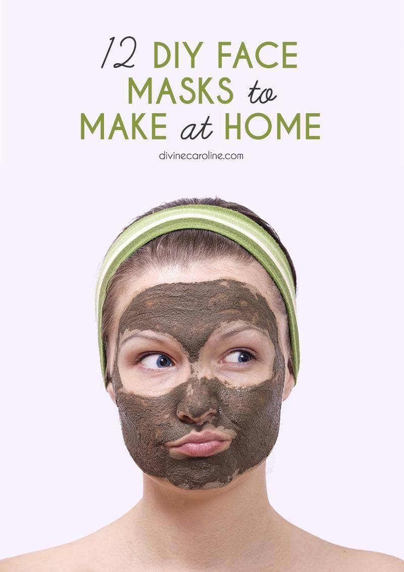 12 diy face masks to make at home | masking, spa and face masks