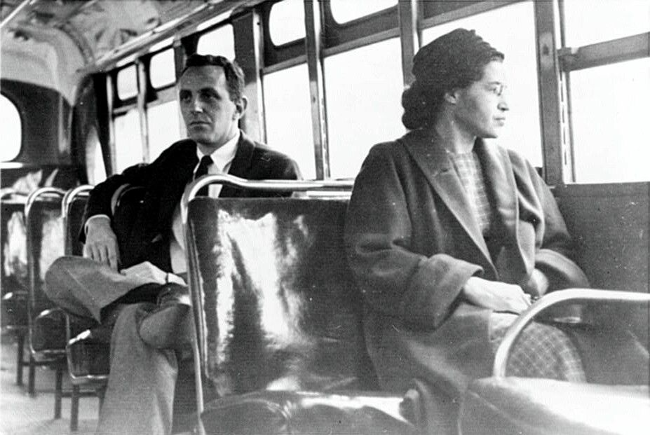 Rosa Parks She Refused To Give Her Seat Up So A Whiteman Could Sit
