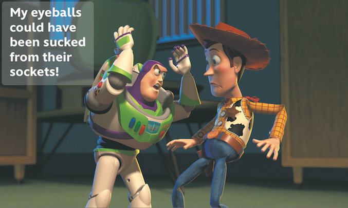 A Buzz Lightyear Quote For Every Situation Things That Make Me Interesting Buzz Lightyear Quotes