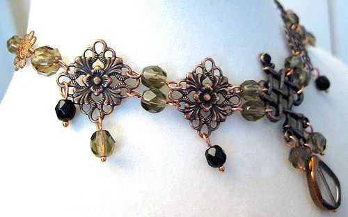 Fancy copper choker design #2 | Flickr - Photo Sharing!