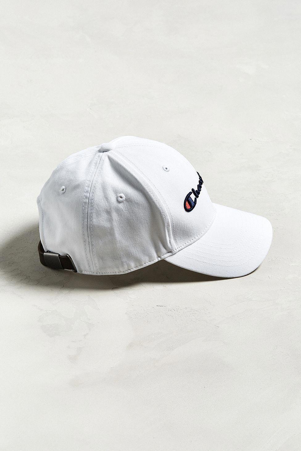 66252fc6cc2 Urban Outfitters Champion Classic Twill Baseball Hat - White One Size   baseballhats