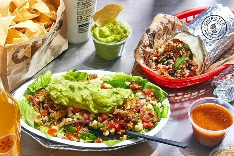 Chipotle mexican grill dairyfree menu items and other