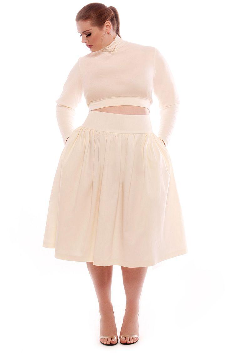 2aa02fe449f2a High Waisted Pencil Skirt