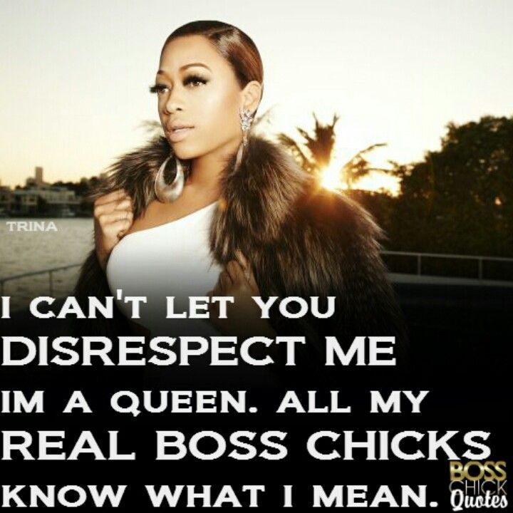 Trina Quotes Like a BOSS! | Words have power | Trina quotes, Quotes, Keep it  Trina Quotes