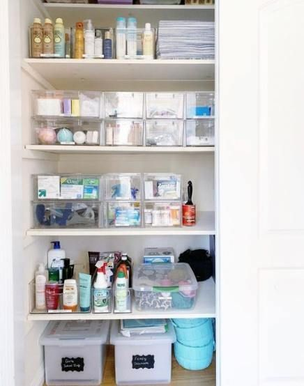 Terrific Snap Shots Bathroom Organization medicine Suggestions Begin using these eight tips for bathroom organization in order to maximize your bathroom, regardles #organizemedicinecabinets