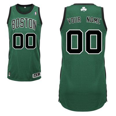 1dd33c57d Adidas Boston Celtics Custom Authentic Alternate Jersey