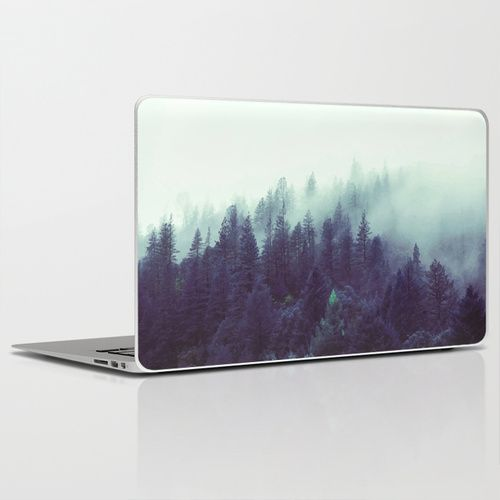 Lost Laptop & iPad Skin #landscape, #forest, #photo, #march, #trees, #nature, #peace