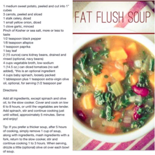 Fat Flush Soup Fat Flush Soup Green Smoothie Cleanse