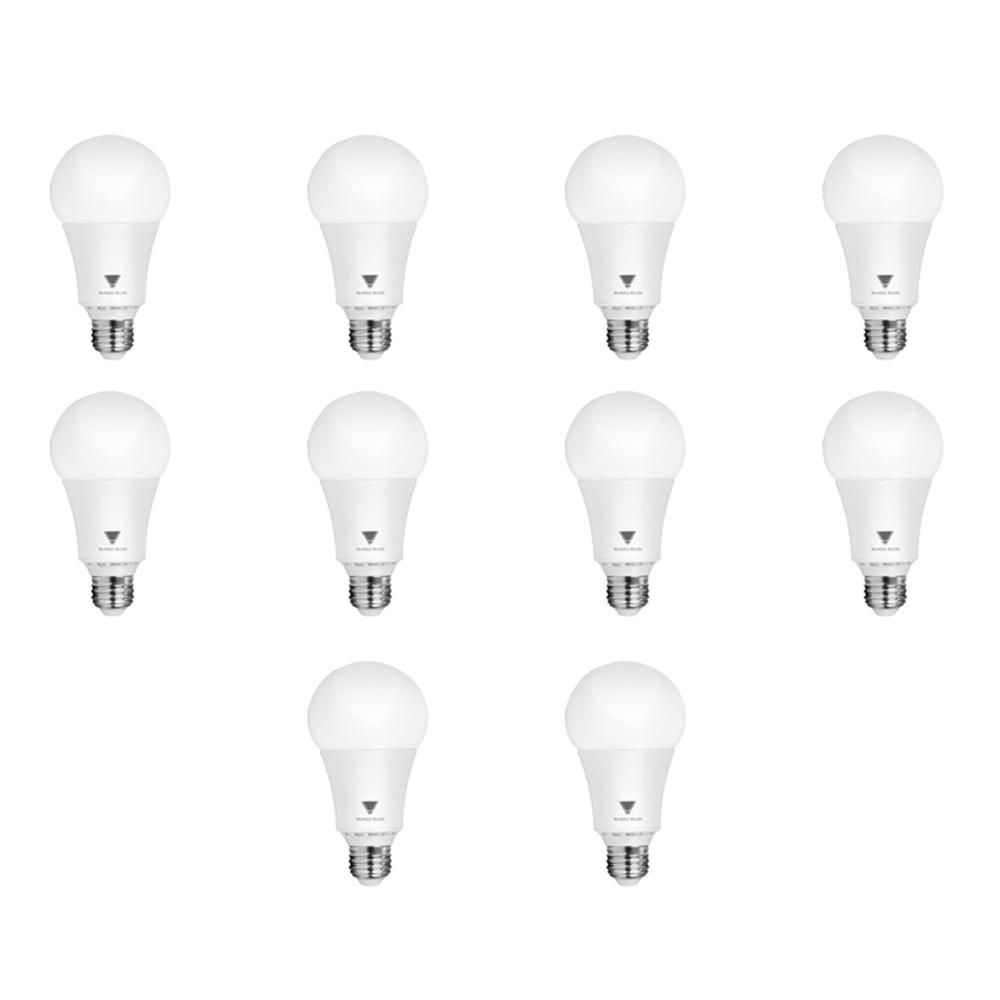 Triglow 100 Watt Equivalent A21 Dimmable 1 600 Lumens Led Light Bulb Soft White 10 Pack Light Bulb Dimmable Led Lights Bulb