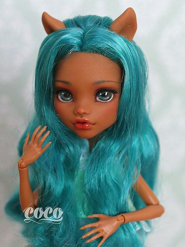 Monsterhigh Custom Repaint Custom Monster High Dolls