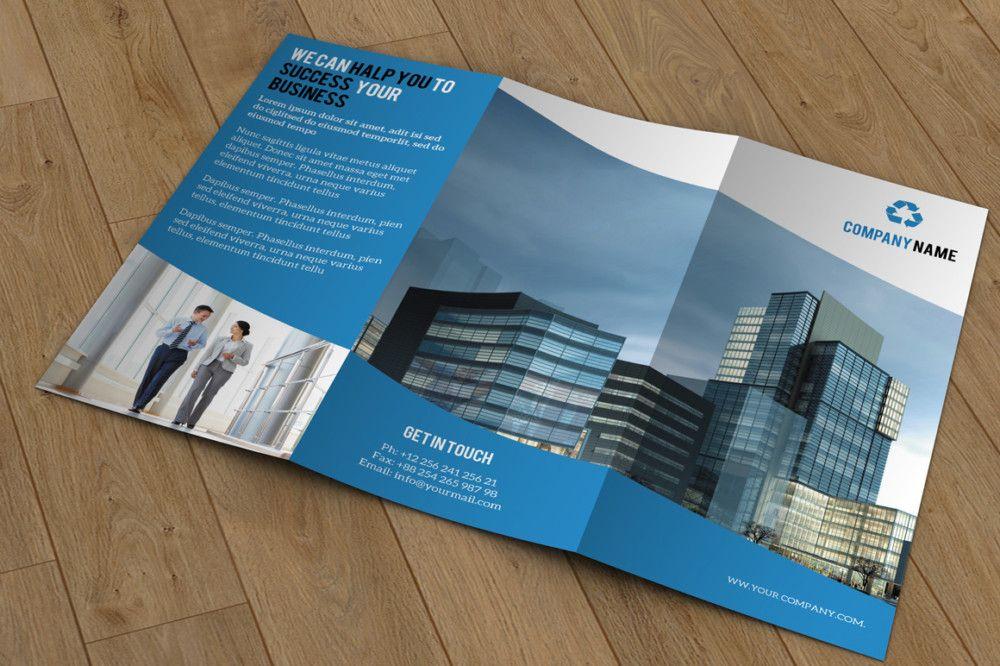 Mutipurpose Company Brochure Template Des Have Industrial Look