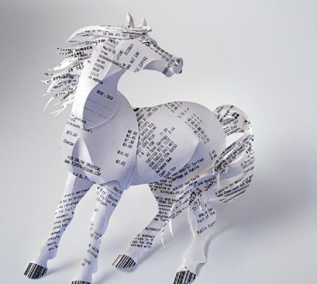 Gail Armstrong's style of paper sculpture illustration is unique ...