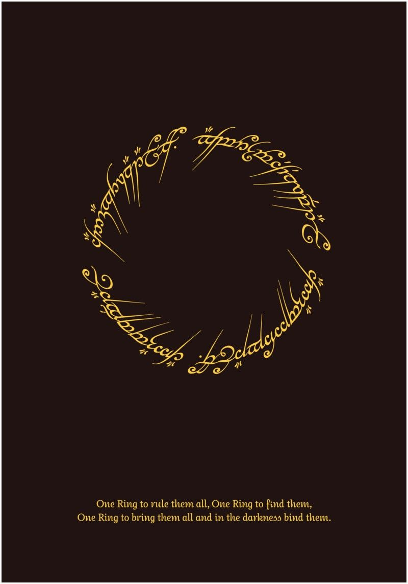 One Ring To Rule Them All Quote Page Number One Ring To Rule Them All Quote One Ring To Rule Them All Quote Translated From The Black Lord Of The Rings Tattoo Lord Of The Rings Lotr Tattoo