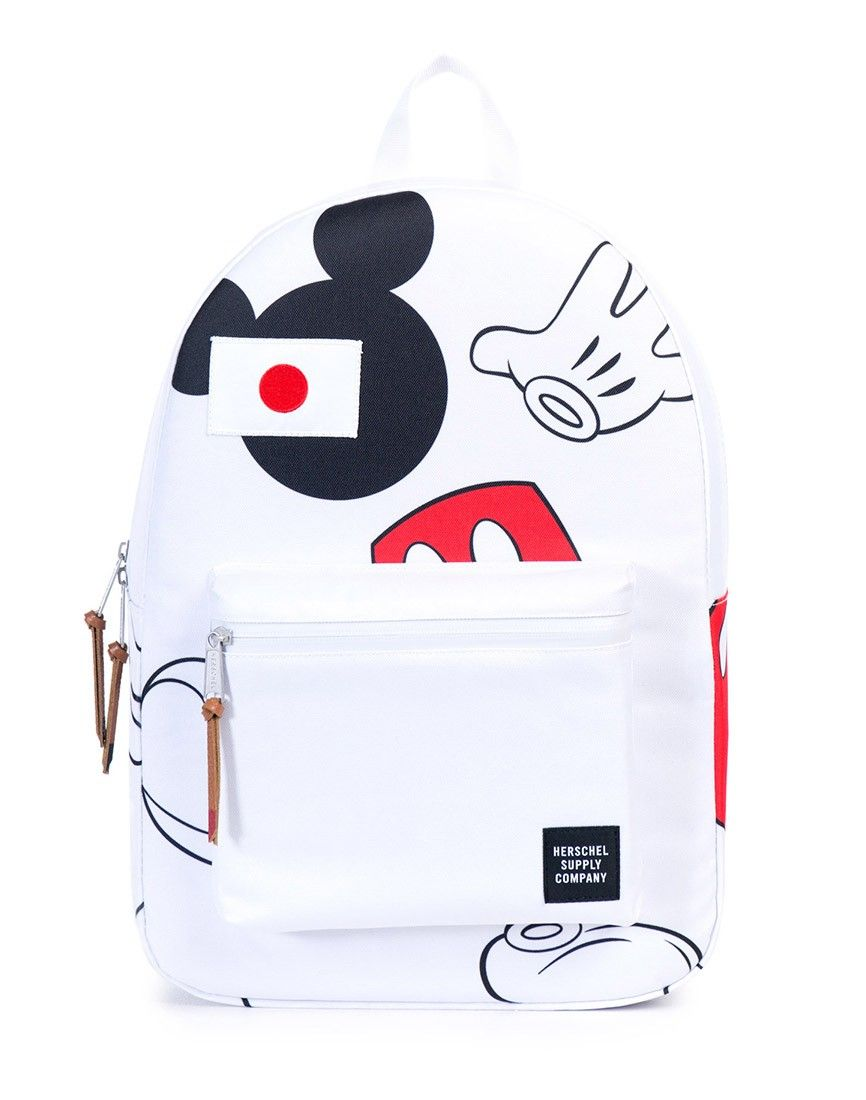 Herschel Supply Co. x Disney Settlement Backpack - Mickey Mouse White - Functional