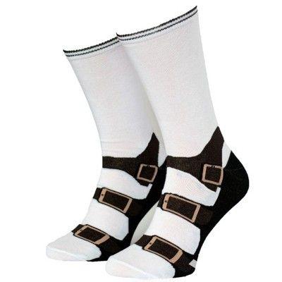 Sandal W Bialej Skarpecie Prezent Na Andrzejki 6599298092 Oficjalne Archiwum Allegro Wedges Shoes