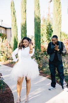 African American wedding engagement photos. engagement photo ...
