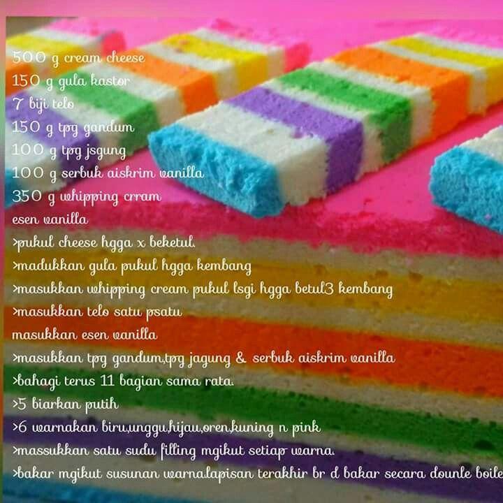 Pelangi Cheese Lapis Layer Cake Recipes Cake Recepies Cake Recipes