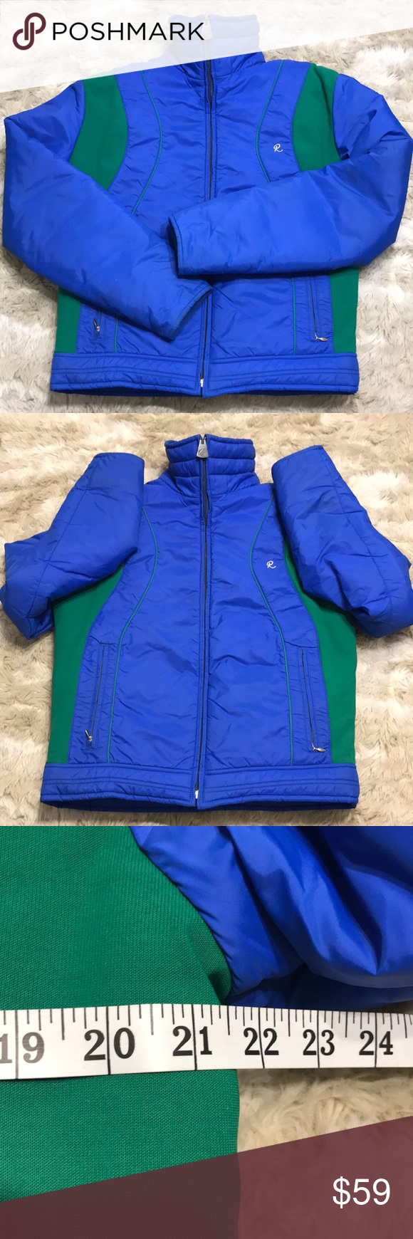 Vtg Roffe Down Ski Puffer Jacket Vintage Ski Jacket Vintage Jacket Bear Outfits [ 1740 x 580 Pixel ]