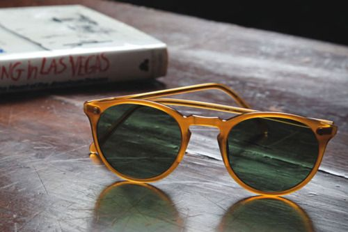 For the summer, vintage sunglasses.