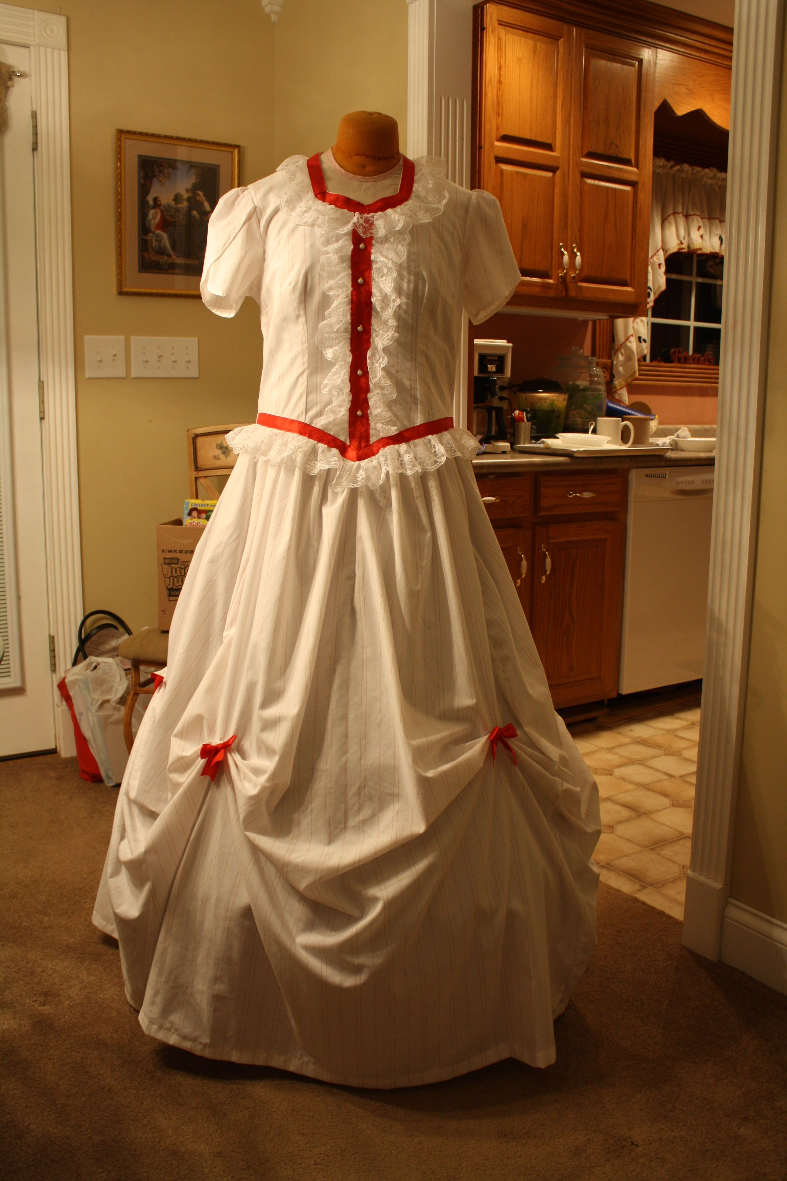 A victorian dress I have for sale on etsy. Victorian