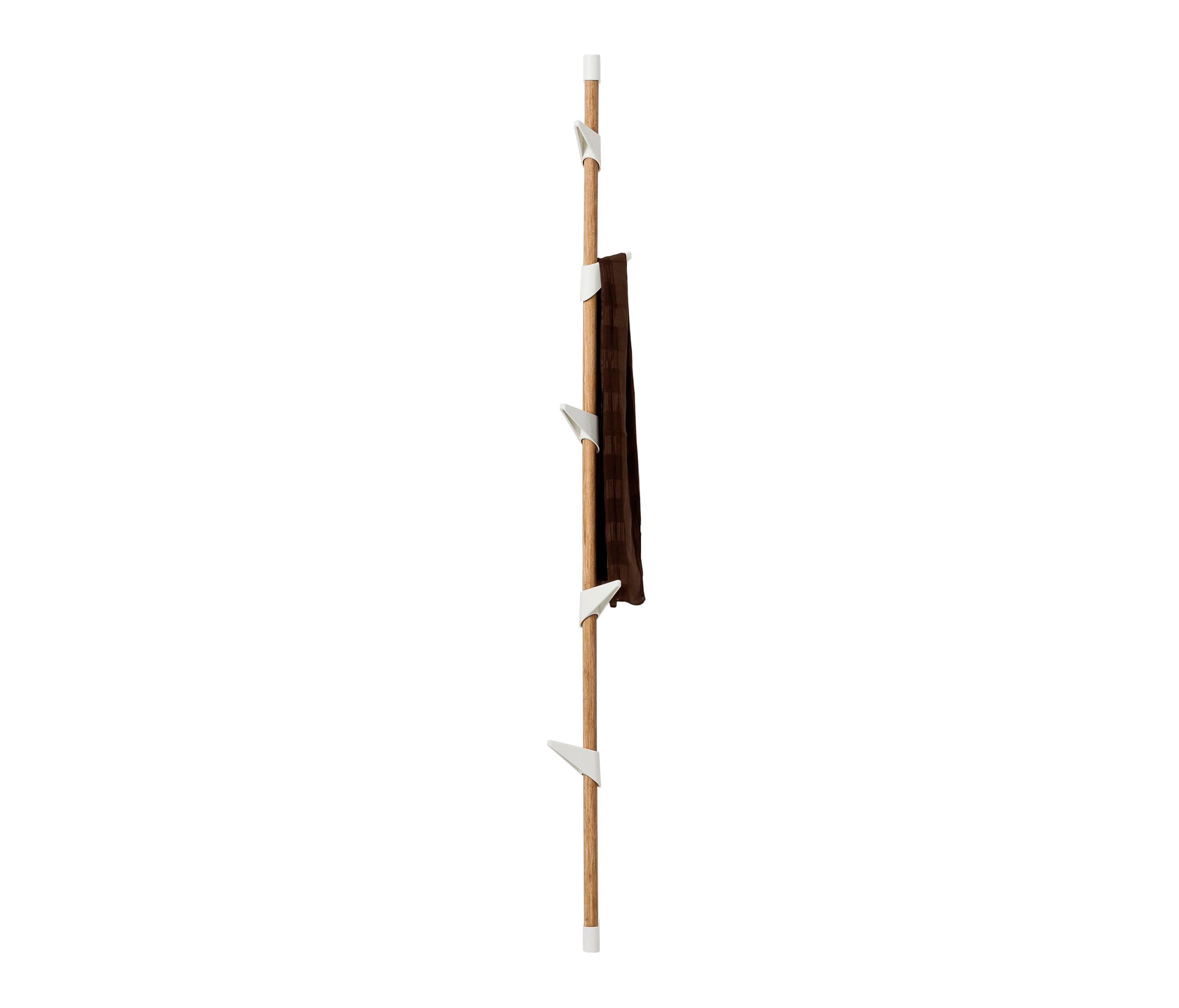 BAMBOO WALL 5 COAT RACK