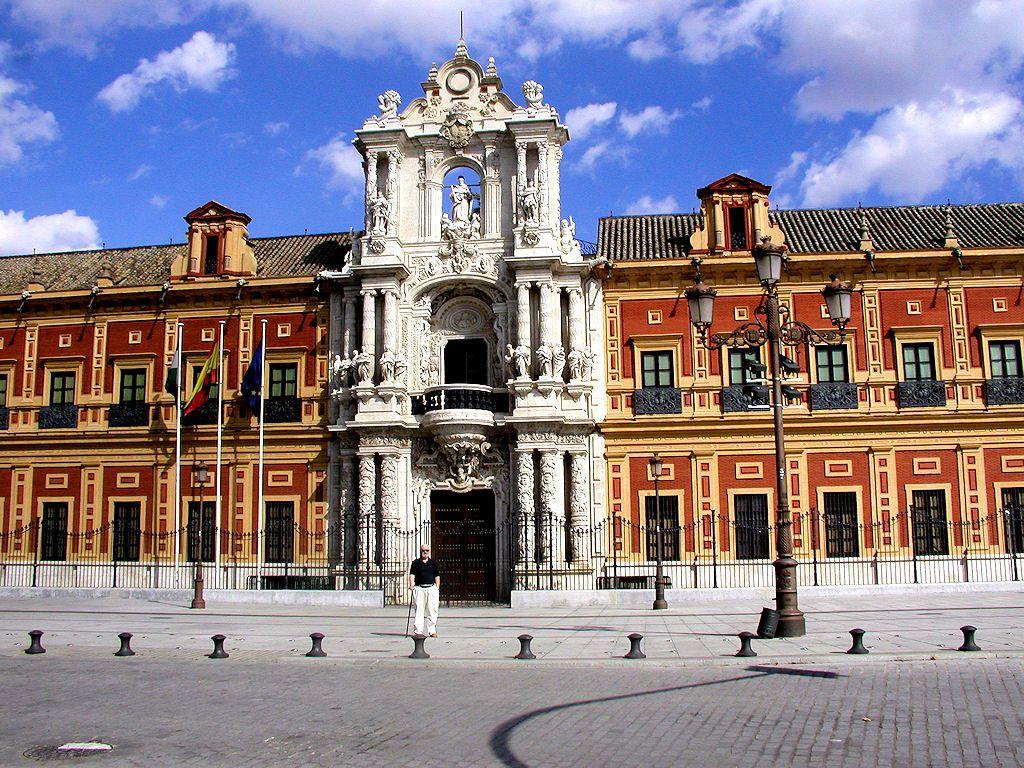 Palacio de San Telmo. (1682-1696) Encargado de la obra: Antonio Rodriguez Ubicación actual: Sevilla, España.