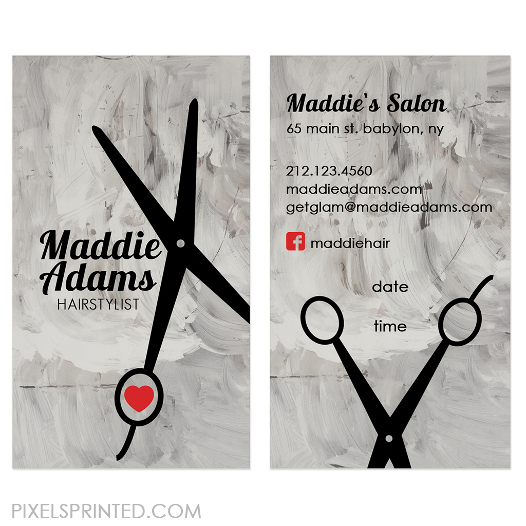 hairstylist business cards | buisness card ideas | Pinterest ...