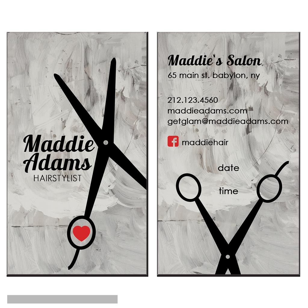 hairstylist business cards | buisness card ideas | Pinterest ...