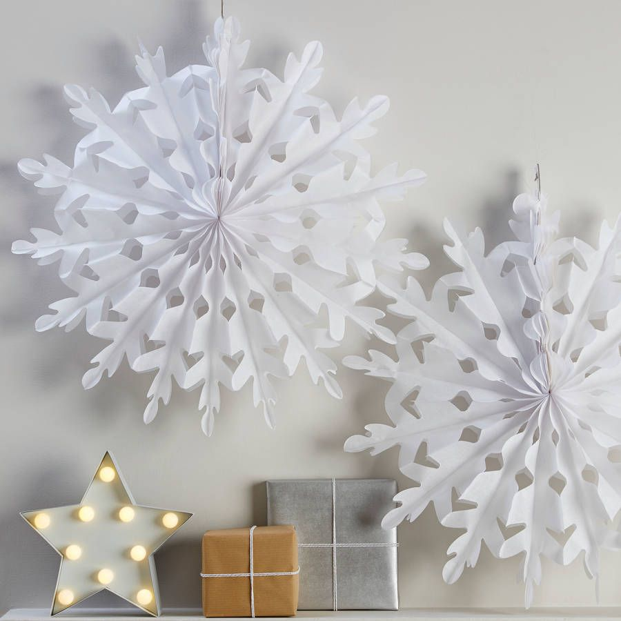 holidays pin snowflake paper and snowflakes decor decorations