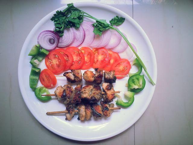 Kunjaminas Recipes: Chicken kabab in pan recipe | Chicken recipe | pan made kabab