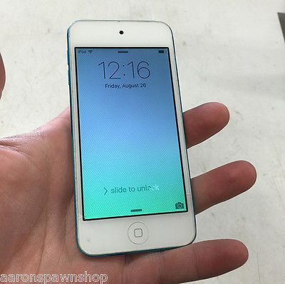 Apple iPod touch 5th Gen Blue (16GB) MGG32LL/A Works Great small crack https://t.co/ghFj4wwhYh https://t.co/aTeNpyLTkq