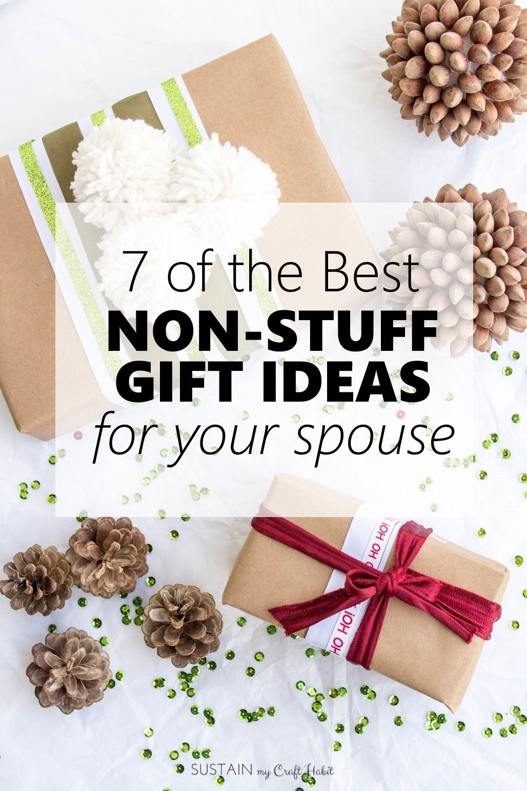 Best Non Stuff Gift Ideas For Your Spouse Throughtful Gifts For Husband Or Wife Meaningful G Unique Christmas Gifts Spouse Gifts Meaningful Christmas Gifts