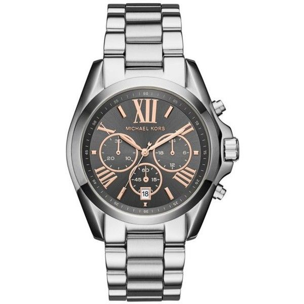 Michael Kors Women S Stainless Steel Bradshaw Watch 14