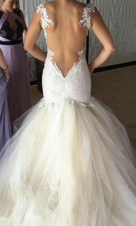 Galia Lahav Loretta Dress 6995 Size 6