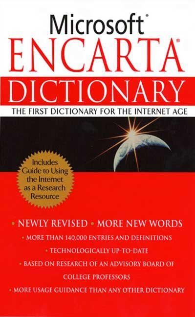 Dictionary pdf encarta