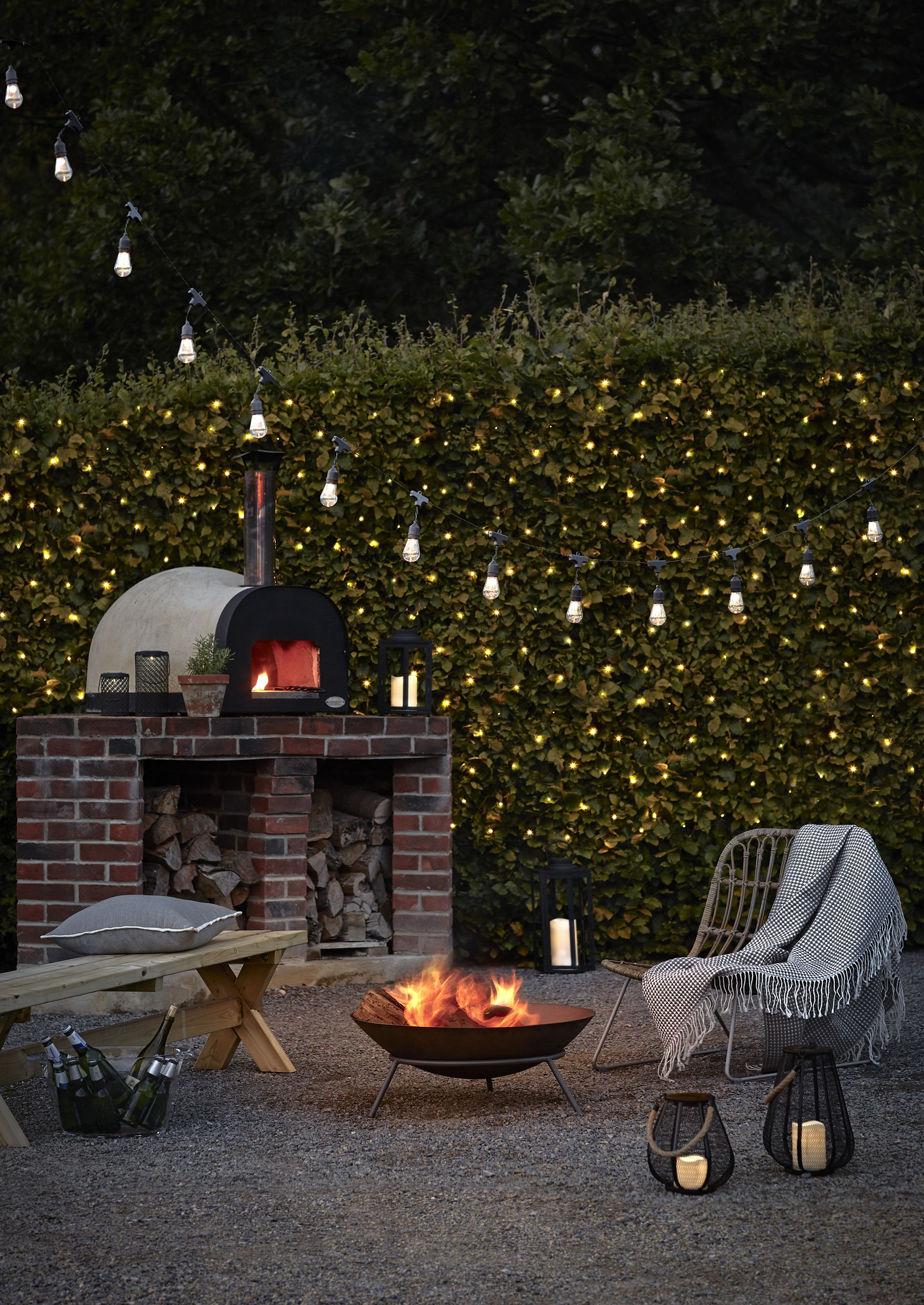 15 Drop Bulb Plug In Festoon Lights Backyard 2019