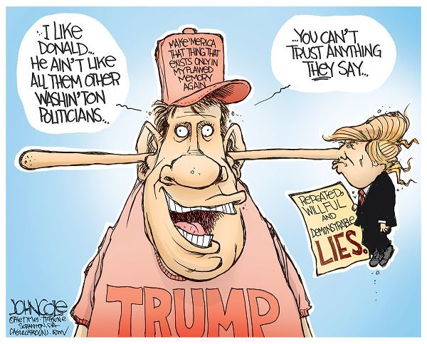 Image result for trump supporters cartoons